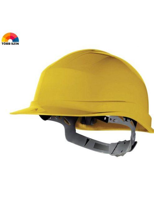 Sárga munkavédelmi sisak