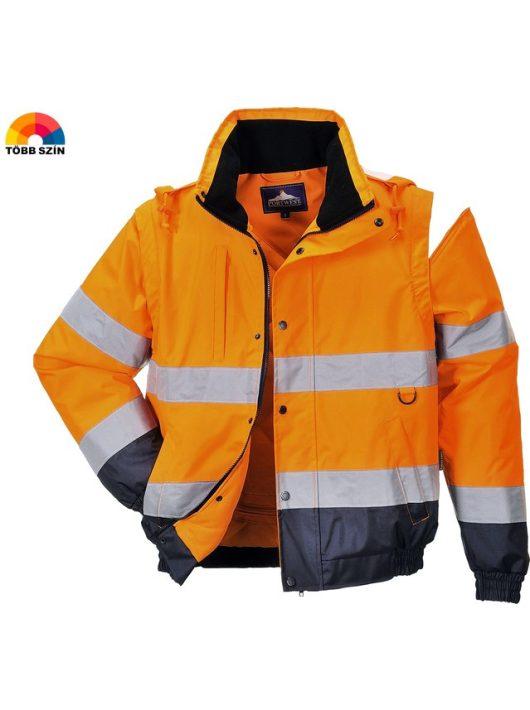 Hi-Vis kabát 2in1